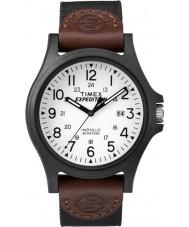 Timex TW4B08200 Мужские экспедиции коричневый ремешок из ткани часы
