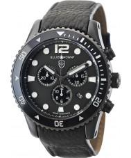 Elliot Brown 929-001-L01 Мужские bloxworth черный кожаный ремешок хронограф