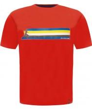 Dare2b DMT322-65740-XS Мужские многополосный пламенную Красная футболка - хз размер