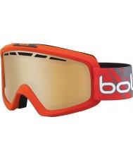Bolle 21464 Nova II матовый красный градиент - модулятор цитруса пушка лыжные очки