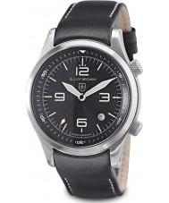 Elliot Brown 202-012-L02 Mens горноспасательных издание Canford черные часы с дополнительным тканого черного баллистического нейлона ремень