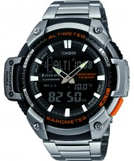 Casio SGW-450HD-1BER Мужские ядра серебра высотомер и барометр комби часы