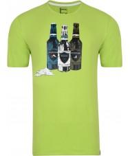 Dare2b Мужская бутылка лайм-зеленая футболка