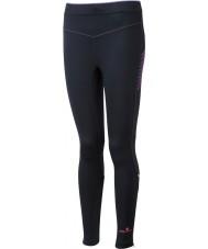 Ronhill RH-001901R292-16 Женская VIZION черный Fluo розовый стрейч колготки - размер UK 16 (XL)