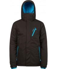 Protest 6710462-290-M Mens мстителя истинный черный снег куртка - размер м