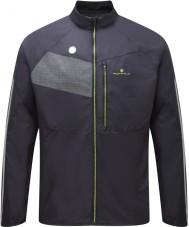 Ronhill RH-001895R848-L Mens Vizion черный Fluro желтый пиджак сияние - размер л