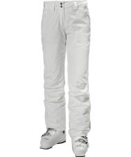 Helly Hansen Женские легендарные белые лыжные штаны