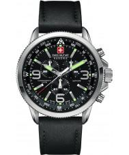 Swiss Military 6-4224-04-007 Мужские стрелка хронографа черные часы