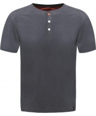 Dare2b Мужская кнопка вверх по эбеновому марли-футболку