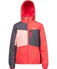 Protest Девочка херес юниор розовая цезарь снежная куртка