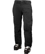 Helly Hansen Мужские скорости изолированные черные лыжные штаны