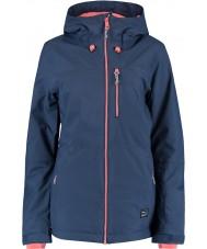 Oneill 655032-5032-L Дамы сольные синие ночи куртка - размер л