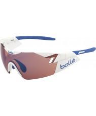 Bolle 6-е чувство блестящие белые розы голубые очки
