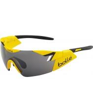 Bolle 6-е чувство блестящий желтый черный ТНС пистолет солнцезащитные очки