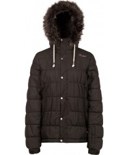 Protest Дамы semmy истинная черная снежная куртка