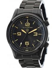 Elliot Brown 202-002-B04 Мужские Canford черный IP-часы стальной браслет