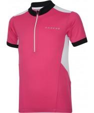 Dare2b Детская футболка с розовым трикотажем