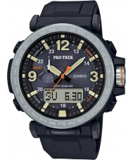 Casio PRG-600-1ER Мужские Pro Trek солнечной энергии черный цифровые часы