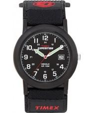 Timex T40011 Mens черный кемпер экспедиции часы