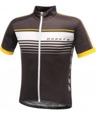 Dare2b DMT133-80040-XS Мужские лихость черный Джерси футболка - размер XS