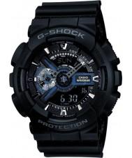 Casio GA-110-1BER Мужские G-SHOCK черный комби мировое время часы