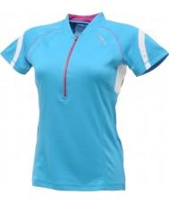 Dare2b DWT078-3FN12L Дамы обновилась синий Джерси футболка - размер s (12)