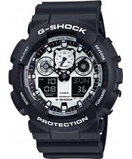 Casio GA-100BW-1AER Мужские часы g-shock