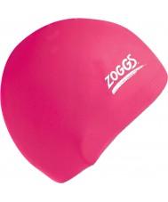 Zoggs 300604-PNK Розовый силиконовый колпачок