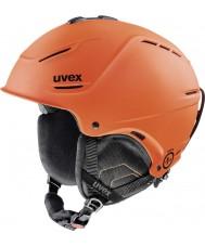Uvex 5661538003 P1us темно-оранжевый коврик лыжный шлем - 52-55cm