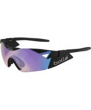 Bolle 6-е чувство с матово-черный сине-фиолетовые солнцезащитные очки