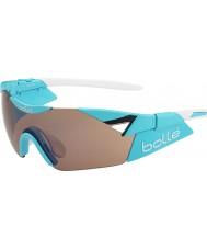 Bolle 6-е чувство блестящий синий сек модулятор розы пистолет очки