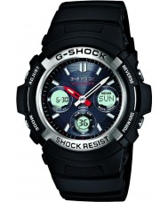 Casio AWG-M100-1AER Мужские G-SHOCK радио проконтролировано на солнечных батареях спортивные часы