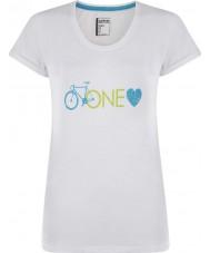 Dare2b DWT319-90010L Дамы одна любовь белая футболка - размер Великобритании (10),