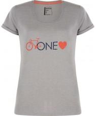 Dare2b DWT319-81I16L Дамы одна любовь пепел серый мергель футболка - размер UK 16 (XL)