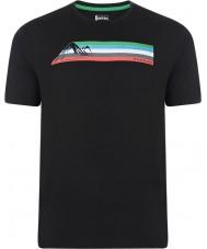 Dare2b DMT322-80040-XS Мужские многополосные черная футболка - размер XS