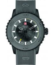 Swiss Military 6-4281-27-007-30 Мужские часы сумерек серый силиконовый ремешок