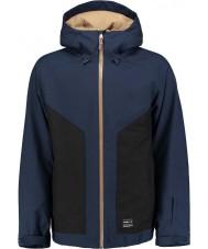 Oneill Мужская галактика ii черная синяя куртка
