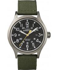 Timex T49961 Мужские экспедиции разведчик зеленый часы