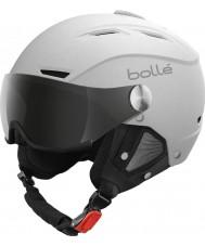 Bolle 21267 Баклайн козырька мягкий белый и серебристый лыжный шлем - 54-56cm