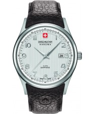 Swiss Military 6-4286-04-001 Мужские часы navalus коричневый кожаный ремешок