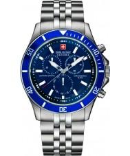 Swiss Military 6-5183-7-04-003 Мужские флагманом Chrono серебряные часы