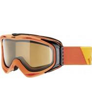 Uvex 5502143021 G.gl 300 взлет оранжевый - коричневый polavision лыжные очки