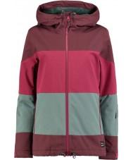 Oneill Дамская коралловая страсть двухцветная куртка
