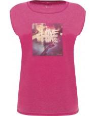 Dare2b DWT327-1Z016L Дамы успокоительные электрический розовый футболка - размер UK 16 (XL)