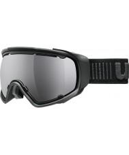 Uvex 5504322026 Jakk сферных черный - черный зеркало лыжные очки