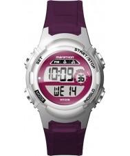 Timex TW5M11100 Дамы марафон фиолетовый смолы ремешок смотреть