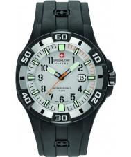 Swiss Military 6-4292-27-009-07 Мужские Бермудские острова черный силиконовый ремешок часы