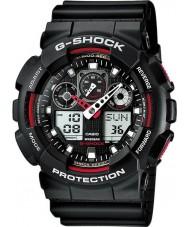 Casio GA-100-1A4ER Мужские G-SHOCK автоматический свет СИД черные часы