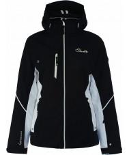 Dare2b DWP334-80010L Дамы выгравированные линии черный пиджак - размер 10 (s)