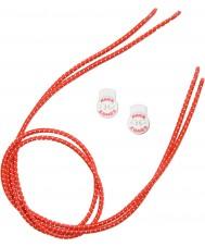 Zone3 Z14278 Эластичные красные шнурки